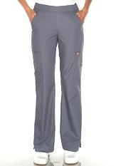 G3701 Orange Catalina Slim Cut Scrub Pants <br>(Regular, Petite, Tall - Slate Gray)
