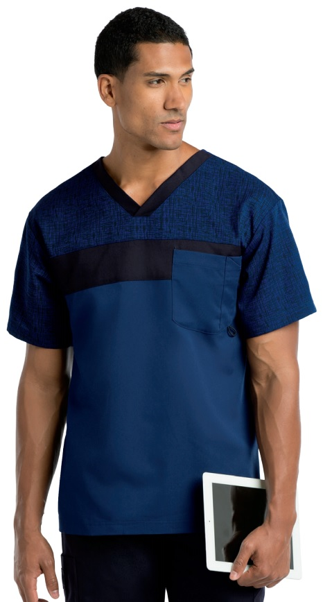 GA0117 Grey's Anatomy Men Scrubs <br>XS - 3X
