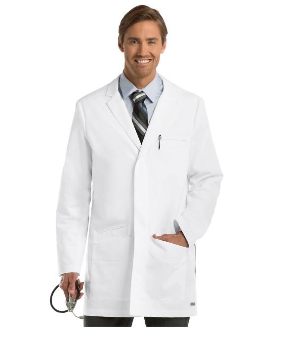 GA0917 Grey's Anatomy Men PERFECT Lab Coat <br>XS to 2X