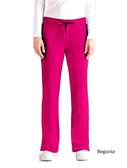 GA2207 Grey's Anatomy Signature Callie Pants <br> Soft and Stretch  XS - 3XL (Regular, Tall, Petite)