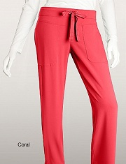 GA2207 Grey's Anatomy Signature Callie Pants <br> Soft and Stretch  XS - 3XL (Coral Color)