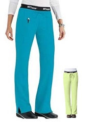 GA4275 Grey's Anatomy Active Logo Waist Band Pants  XS - XL (Regular, Petite, Tall)  Capri and Lemonade