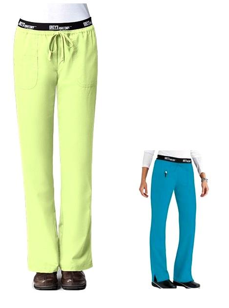 GA4275 Grey's Anatomy SLIM Pants  XS - XL (Regular, Petite, Tall)  Capri and Lemonade FINAL SALE