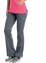 GA4275 Grey's Anatomy Active Logo Waist Band Pants  (Regular, Petite) <br>XXS - 3XL *SLIM FIT*