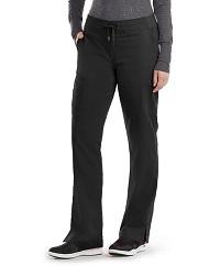 GA4277 Grey's Anatomy Tie Front/Elastic Back Pants <br>Reg,Petite,Tall