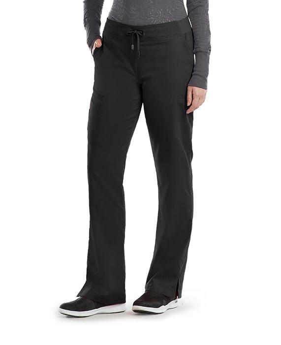 GA4277 Grey's Anatomy Slim Cargo Pocket Pants <br>Reg,Petite,Tall