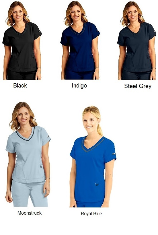 GA7187 Grey's Anatomy IMPACT Harmony Scrub Top *Athletic Design*
