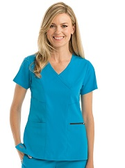 GRST001 Grey's Anatomy Scrub Top *STRETCH* <BR> FINAL SALE