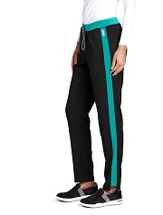 GVSP501 Grey's Anatomy Color Block Pants  *STRETCH* FINAL SALE
