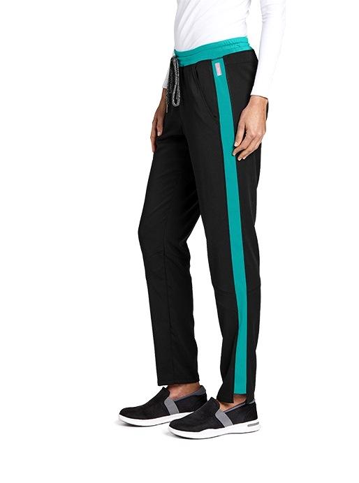 GVSP501 Grey's Anatomy Color Block Pants (Regular, Tall, Petite) *STRETCH*