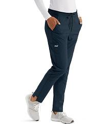 GVSP509 Grey's Anatomy Spandex Stretch Slim Pants (Regular, Petite)