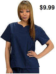 KW112T Klik Fits Jakarta Scrub Top <br>XXS - 3XL FINAL SALE