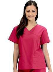 KW110T Klik Fit Colombo Crossover VNeck Scrub Top <br>XS - 3XL
