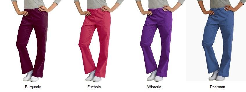 KW115P Klik Fits Flat Front Elastic Scrub Pants Melbourne <br>Flattering XXS - 3XL