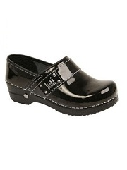 KS-BL Koi By Sanita Lindsey Nursing Clog <br>(Black)