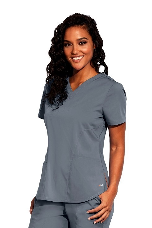 MOT001 Motion by Barco Jill Scrub Top <br>Easy Care Stretch