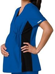 C2892 Cherokee Flex-I-Bles Maternity Wrap Top
