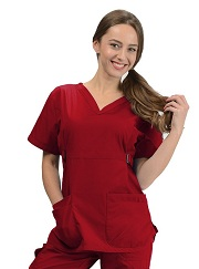 KW113T Klik Fits New York Scrub Top <br>FINAL SALE