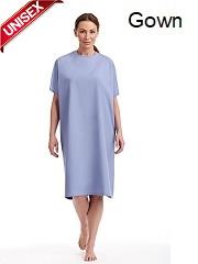 PG550 Patient Gown <br> Unisex Washable Poly/Cotton