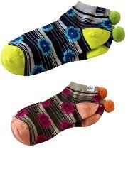 A106 Koi Pom Pom Socks