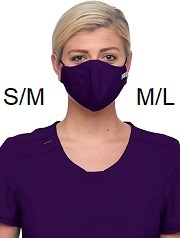 WW560AB Cherokee 3-ply Antimicrobial Fluid Barrier Mask (Women/Men) <BR>TWO SIZES S/M and M/L