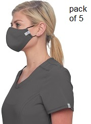 WW560AB Cherokee 3-ply Antimicrobial Fluid Barrier Mask (Women/Men) <BR>TWO SIZES S/M and M/L <BR>5 Masks @$6.99 each