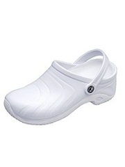 ZONE-WHITE Cherokee Zone Injected Clog w/ Backstrap (size 5 - 12)